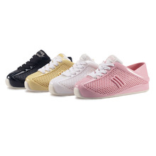 Mini Melissa Girl Sneakers 4 Color Mini mini 2017 New Children Shoes Casual Fashion Breathable Children' S Sports Shoes Melissa