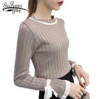 Mulheres camisola sueter mujer invierno 2019 blusas de inverno feminina gola swetry chompas de mujer invierno 5048 50 damskie