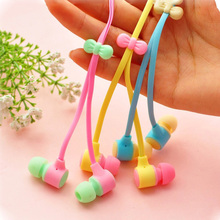 Cute Macaroon Earphones 3.5mm In-Ear Earphone With Macaroon Case For Xiaomi Samsung Sony iphone 7 Mobile Phone fone de ouvido