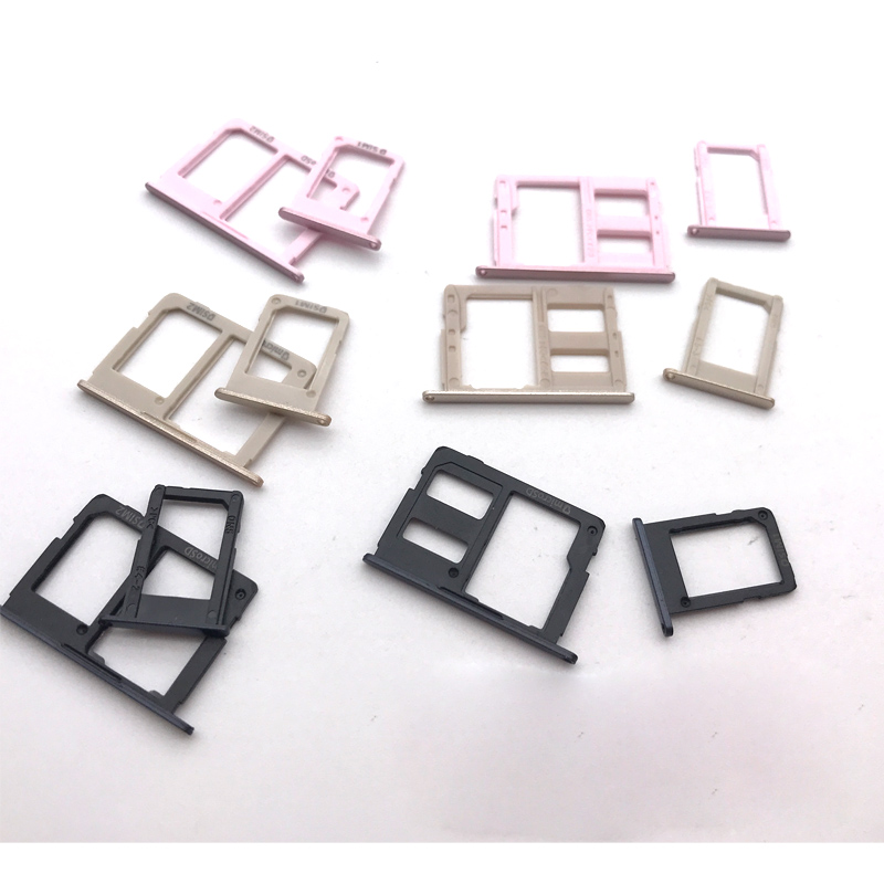 4Color Sim Card For Samsung Galaxy J3 J5 J7 2017/J330 J530 J730F SIM Card Tray Slot Holder Replacement Part