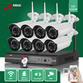 ANRAN 3TB HDD 8CH P2P HDMI 1080P WIFI NVR 36IR Waterproof Outdoor Wireless IP Camera Surveillance CCTV Video Security System