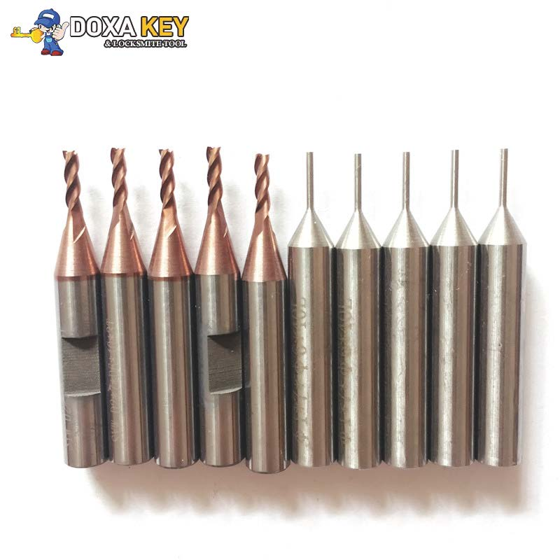 10pcs lot Original 2 0mm Milling Cutter 1 0 Probe for Mini Condor IKEYCUTTER CONDOR XC