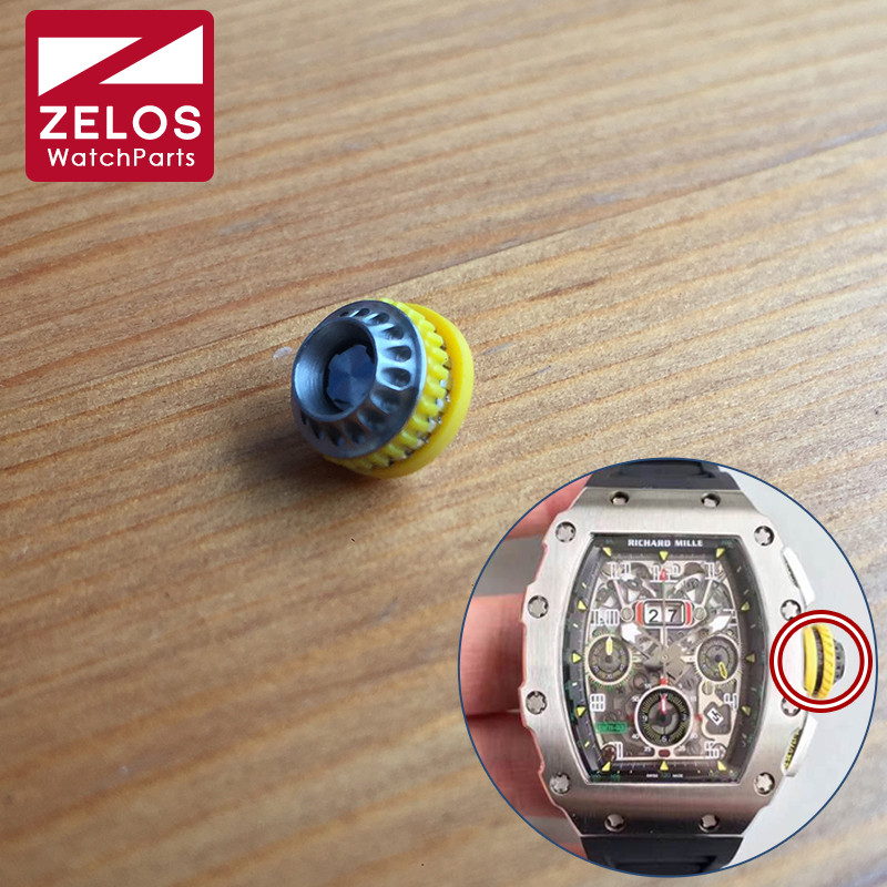 11 Possible Replacements On The View: Steel Waterproof Crown For The Richard Mille RM11 03