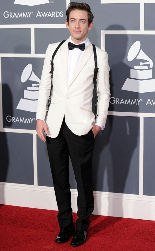 2017 nouveau blanc et noir Mix Match Tuxedos hommes beaux costumes de mariage Cocktail Party porter des costumes de spectacle magique (veste + pantalon + arc)