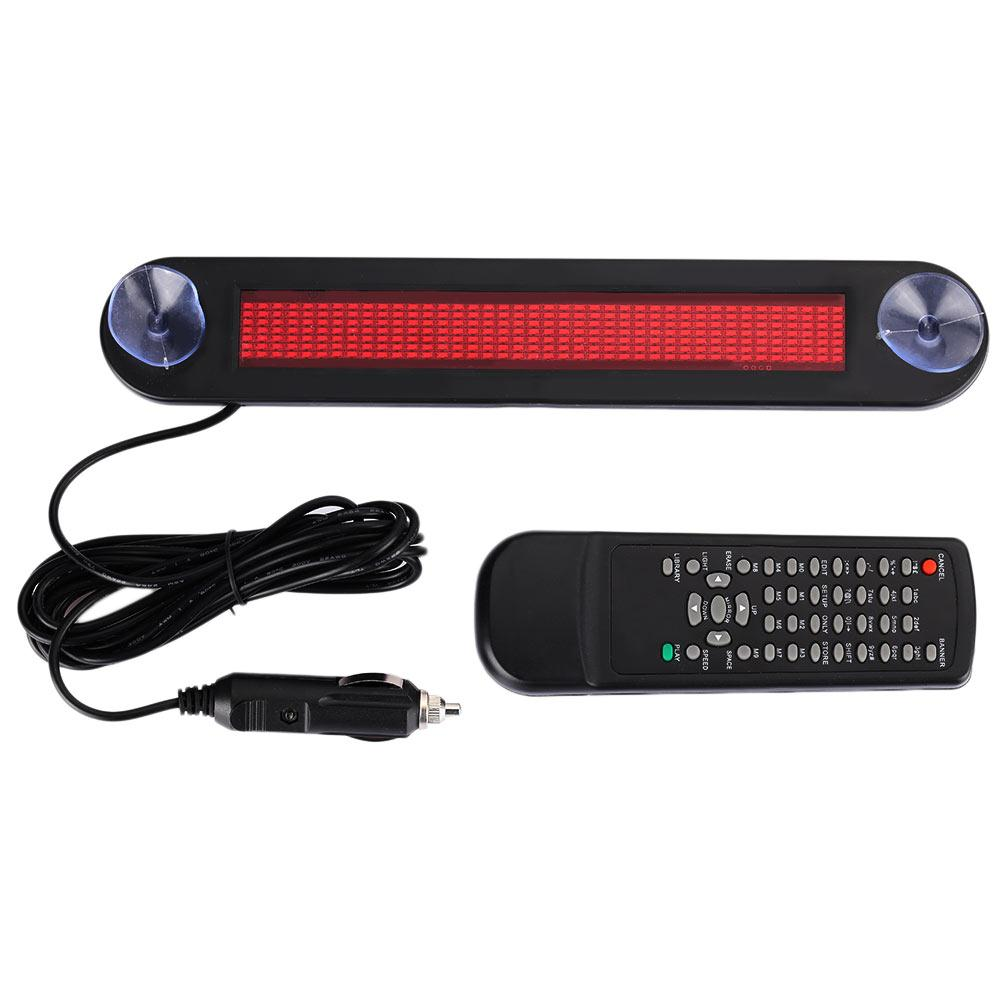 Vehemo Remote Control Programmable Scrolling Board Auto Subtitle Display LED Display Durable Highperformance Warning Sign