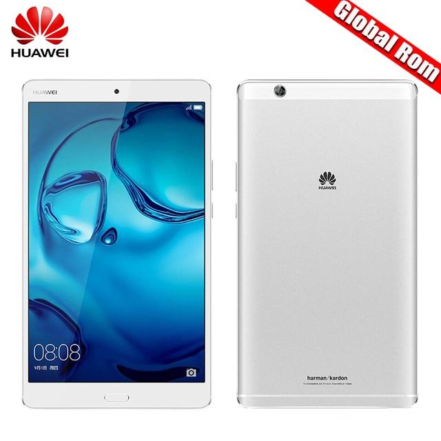 "Глобальный ROM 8.4 ""Huawei MediaPad M3 4 ГБ оперативной памяти 32 ГБ/64 ГБ/128 ГБ Android 6.0 LTE/Wi-Fi Octa core Tablet KIRIN 950 2 К экран 2560*1600 N"