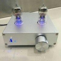 T5 tube preamp Audio HIFI przedwzmacniacz TUBE 6N3 MATISSE Bufor z 12 V 2A adapter
