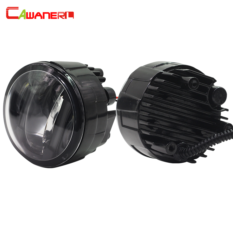 Cawanerl 1 Pair Car Styling DRL Daytime Running Lamp LED Fog Light 12V For Infiniti M35H M37 M56 FX 30d 37 50 cawanerl 1 pair car styling led light fog lamp daytime running light drl dc 12v for suzuki alto grand vitara jimny sx4 splash
