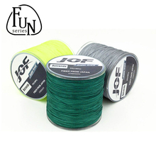 FunSeries Super Strong 500M Braided Wire Multifilament Fly Fishing Line Tresse 8 Brins PE Material 9 Colorful Fishing Tackle