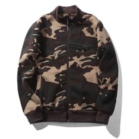 USA SIZE Camouflage Jacket Men New Brand Camouflage Mens Bomber Jackets Hip Hop Mens Jackets And