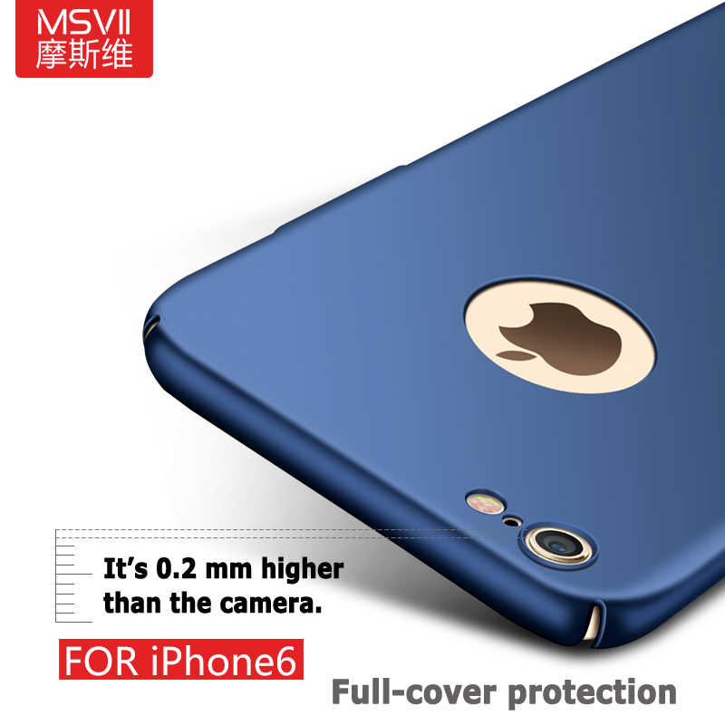 936ba79145 ... Msvii For iphone 6s case for iphone 6 case Ultra Thin Full protection  Hard Frosted PC ...