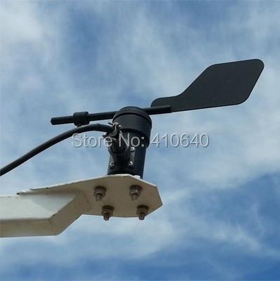 Aluminium Alloy Material 4-20mA Wind Direction Sensor/ Voltage Type Wind Direction Sensor/ Anemometer RS485 0 5v 4 20ma 485 type wind speed sensor voltage output anemometer 360 degree