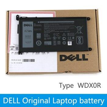 بطارية كمبيوتر محمول ديل الأصلي لأجهزة dell Inspiron 14 7000 5567 7560 7472 7460-d1525s 7368 7378 5565 3488 latitude 3580 WDXOR