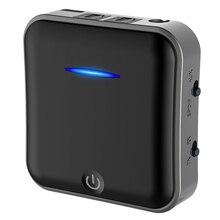 WEARPAI Wireless fiber Bluetooth Audio receiver/transmitter, 2 in 1 Bluetooth V5.0 bluetooth audio transmitter for TV/CAR audio ts bt35f03 bluetooth 3 0 audio transmitter black