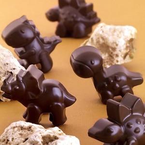 Image 4 - Silicone dinosaur mold Chocolate animal cake biscuit Mold Baking flip sugar candy silicone DIY mold