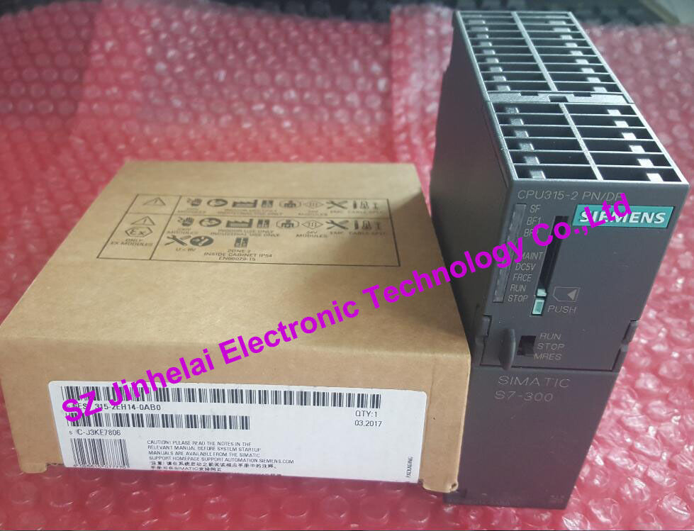 6ES7 315-2EH14-0AB0 New and original PLC CENTRAL PROCESSING UNIT 6es7 331 7kf02 0ab0 100% appearrance new 3 months warranty fast delivery