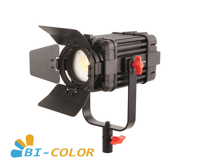 1 Pc CAME TV Boltzen 60w Fresnel Fanless Fokussierbare LED Bi Farbe Led video licht