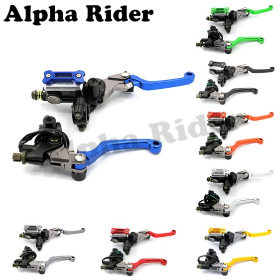 7/8 22MM CNC Motorcycle Brake Master Cylinder Hydraulic Reservoir Clutch Levers for KTM SUZUKI RM85 2005 2006 2007 2008-2014 hot sale motorcycle accessories 7 8 hydraulic levers cnc motocross brake master cylinder lever for ktm 105sx 2009 2010 2011
