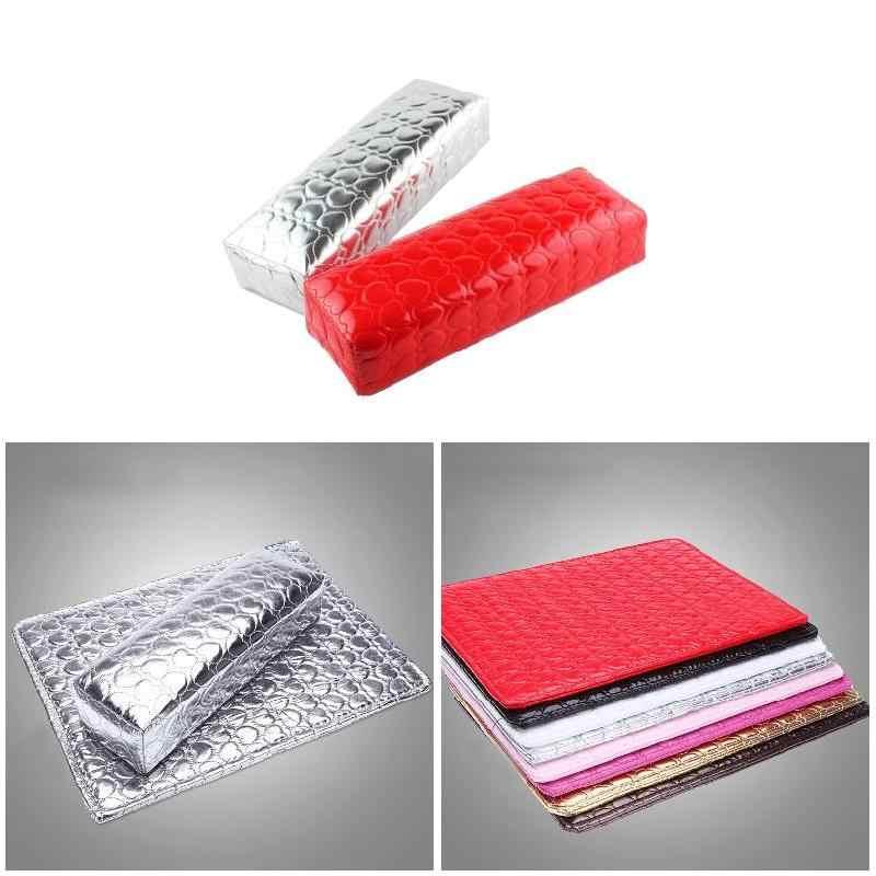 Brand New Manicure Hand Kussen met Hand Pad Waterdicht Zachte Pu Lederen Kussen Care Manicure Nail Care Behandeling Pre gereedschap