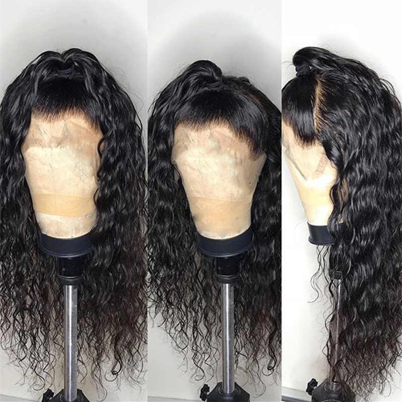 Water Wave Lace Front Human Hair Wigs 13x4 Lace Frontal Wig 150% Pre Plucked Tuneful 100% Malaysian Remy Hair Lace Wigs