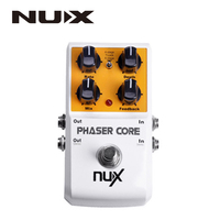 Nux phaser core 4-stage und band 8-stufen-filtration core serie gitarre effektpedal true bypass