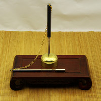 High grade Taiwan Pure Copper Flexible Inverted Bell Buddhist Temple Supplies Pray To Buddha Help To Read Multiplier