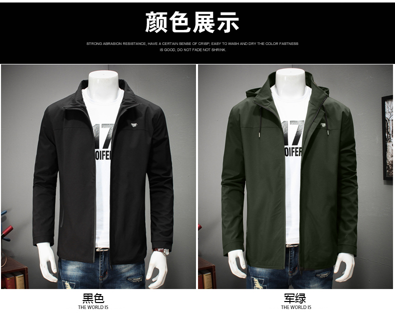 311c8198702 2018 new spring plus size 10XL 9XL 8XL 7XL 6XL 5XL Brand Jacket Men Clothes  Trend Fit Casual Mens Detachable hat Jacket-in Jackets from Men s Clothing  on ...