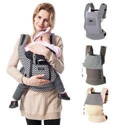 Portadores de bebê ergonômico mochilas 5-36 meses portátil bebê estilingue envoltório algodão infantil bebê recém-nascido cinto de transporte para a mãe pai