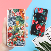 Colorful Phone Case with Floral Pattern for iPhone and Samsung