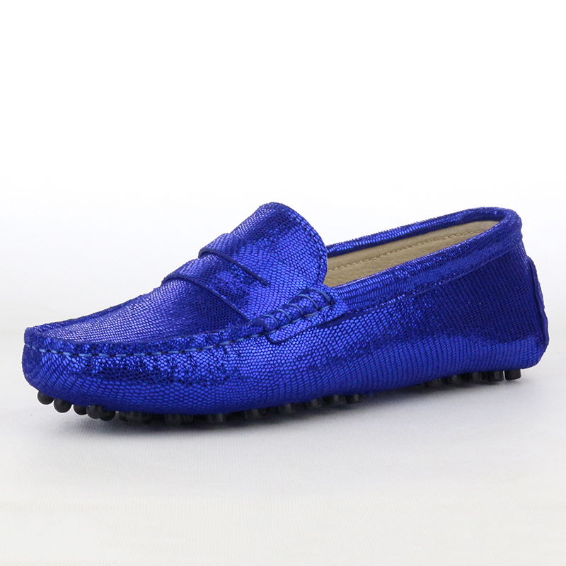 Comfortable Flats Driving-Shoes Moccasins Women New-Style Loafers Genuine-Leather Casual