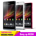 Original Unlocked for Sony Xperia Sp Cell Phones M35h C5303 C5302 3g Android Wifi Gps 4.6'' 8mp Camera free Shipping