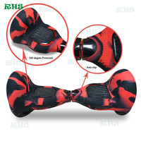 10inch Hover Board 2 Wheels Protective Silicone Case Cover Sleeve Bluetooth Balance Scooter Wrap In Stock