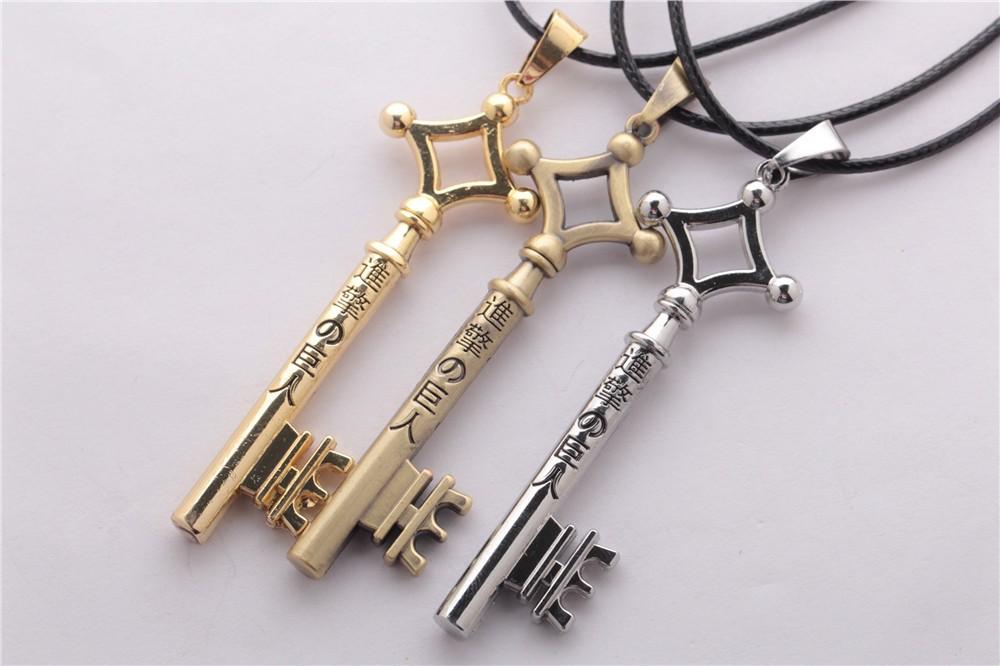 Attack on Titan Eren Jaeger Necklace Key 3