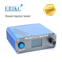 ERIKC 110V & 220V Mechnical Fuel Injector Tester Common Rail Piezo Injector Tester Usb for BOSCH DENSO DELPHI CAT Fuel Injection
