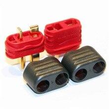 5 paires / amassez haute qualité T ( Dean ) branchez homme femme Bullet Plugs pour RC Lipo batterie quadcopter multicopter