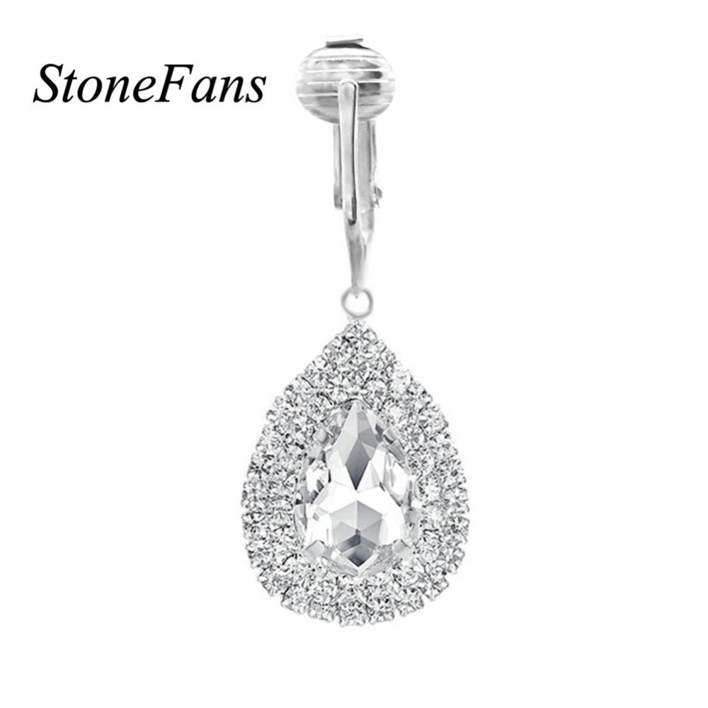 StoneFans Clit Clip Non Piercing Clitoral Clip Intimate Dangle Labia Clip Body Jewelry