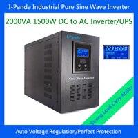 Intelligent Control Power Inverter With LCD Display I P XD 2000VA 1500W
