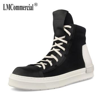 Hip Hop Shoes mens chelsea boots autumn winter British retro cowhide military boots breathable sneaker fashion combat boots