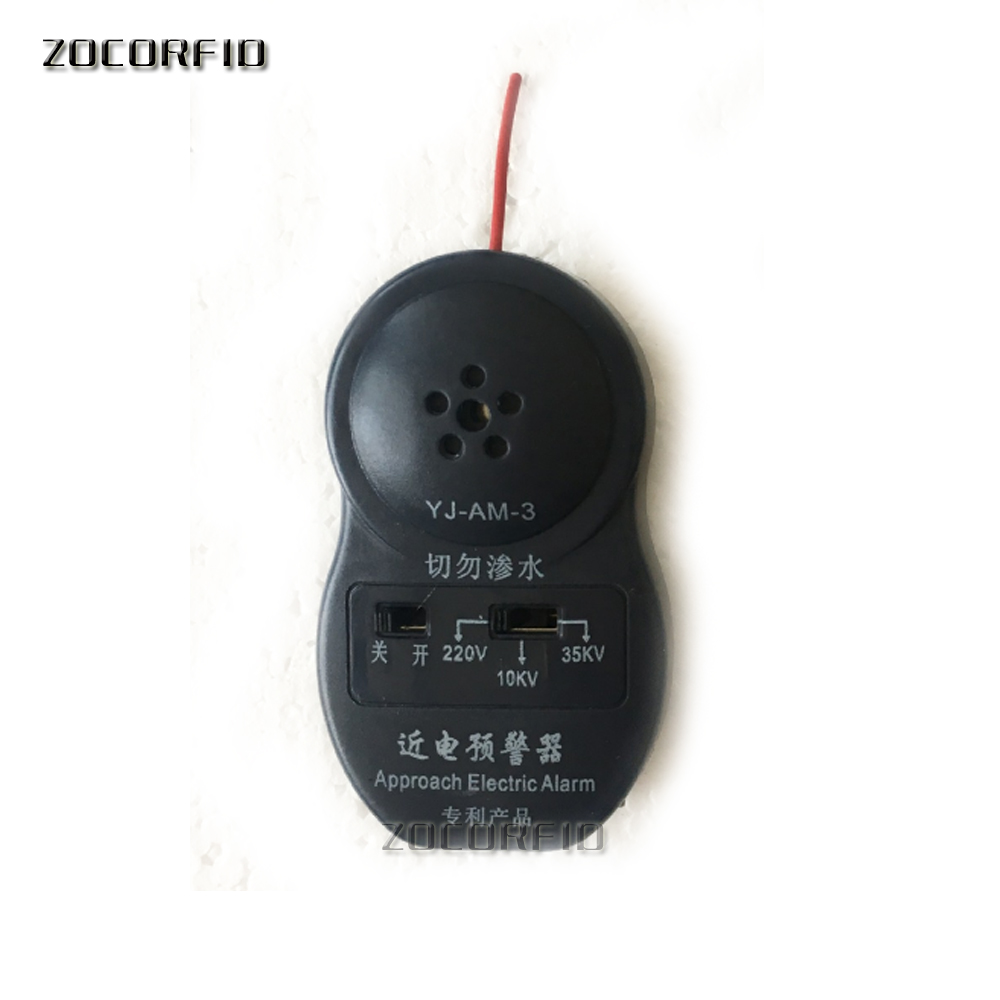Approach Electric Alarm Three Gears Use With Safety Helmet/voltage Leak Detector