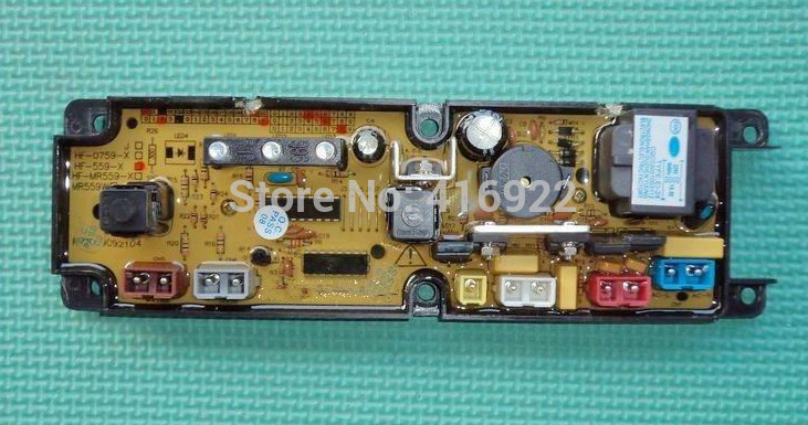 Free shipping 100% tested for  washing machine board Computer board XQB50-7550 HF-559-X motherboard on sale 100% tested for washing machine board wd n80051 6871en1015d 6870ec9099a 1 motherboard used board