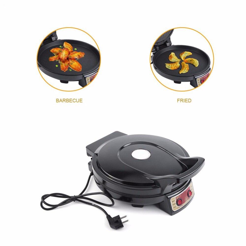 KBP 3201 Elektrische Grillplaat & Backer Dual side Verwarming Bakken Pan Frituren Machine voor Huishoudelijke Keuken Gebruik - 5