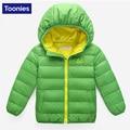 Children Winter Down Jacket 2017 New Arrival Korean Style Kids Outwear Warm Zipper Coat Down Jacket Baby Clotheses