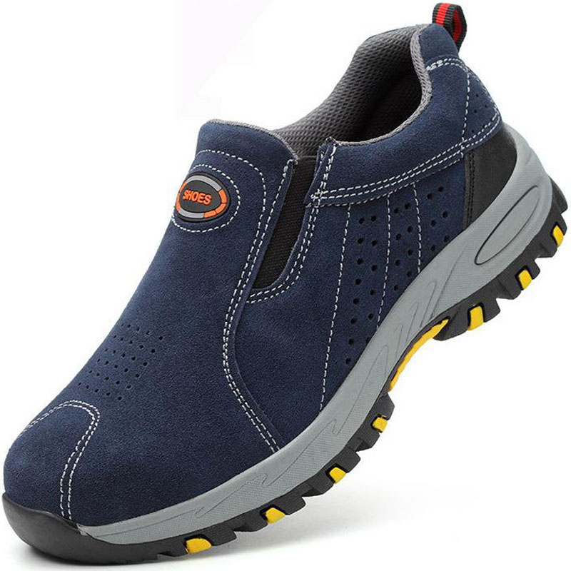Safety Shoes Cap Steel Toe Safety Shoe Boots For Man Work Shoes Men Waterproof Size 12 Footwear Winter Wear-resistant GXZ019Safety Shoes Cap Steel Toe Safety Shoe Boots For Man Work Shoes Men Waterproof Size 12 Footwear Winter Wear-resistant GXZ019