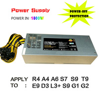 Brand New Original Antminer 1800w Power Supply Antminer APW3 12 1600 ETH PSU Antminer S9 S7