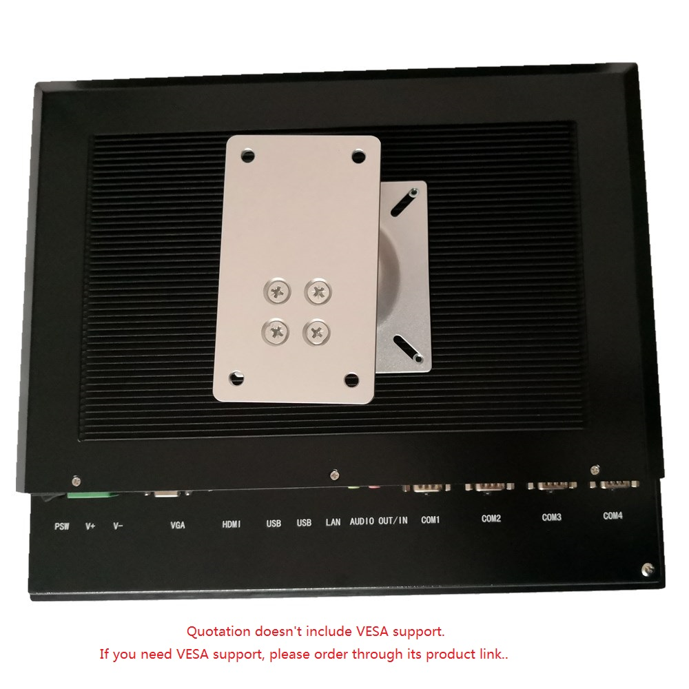 17 collu bez ventilatora rūpniecības paneļa dators, J1900 CPU / - Rūpnieciskie datori un piederumi - Foto 4