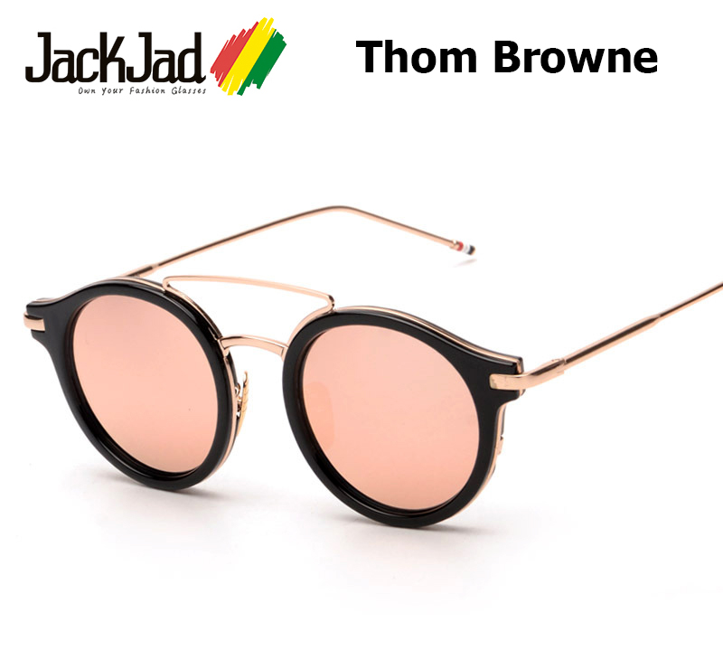 Fashion Sunglasses 2016  aliexpress com 2016 new fashion thom browne brand s930 round