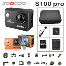 SOOCOO S100 PRO Action Camera Ultra HD 4K Touch Screen WiFi GPS gyrometer Image Stabilization Go Waterproof pro Camera