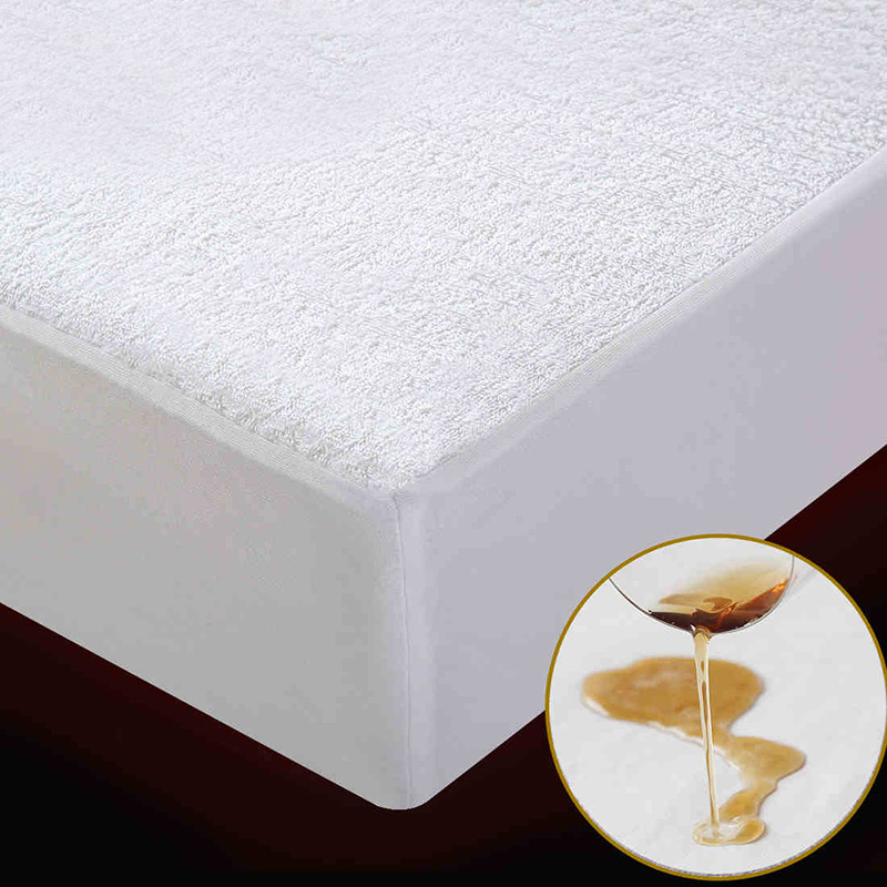 Terry Waterproof Size 160X200cm <font><b>Bed</b></font> Waterproof <font><b>Cover</b></font> Mattress Protector <font><b>Cover</b></font> for <font><b>Bed</b></font> Wetting and <font><b>Bed</b></font> Bug Suit for Russian Size