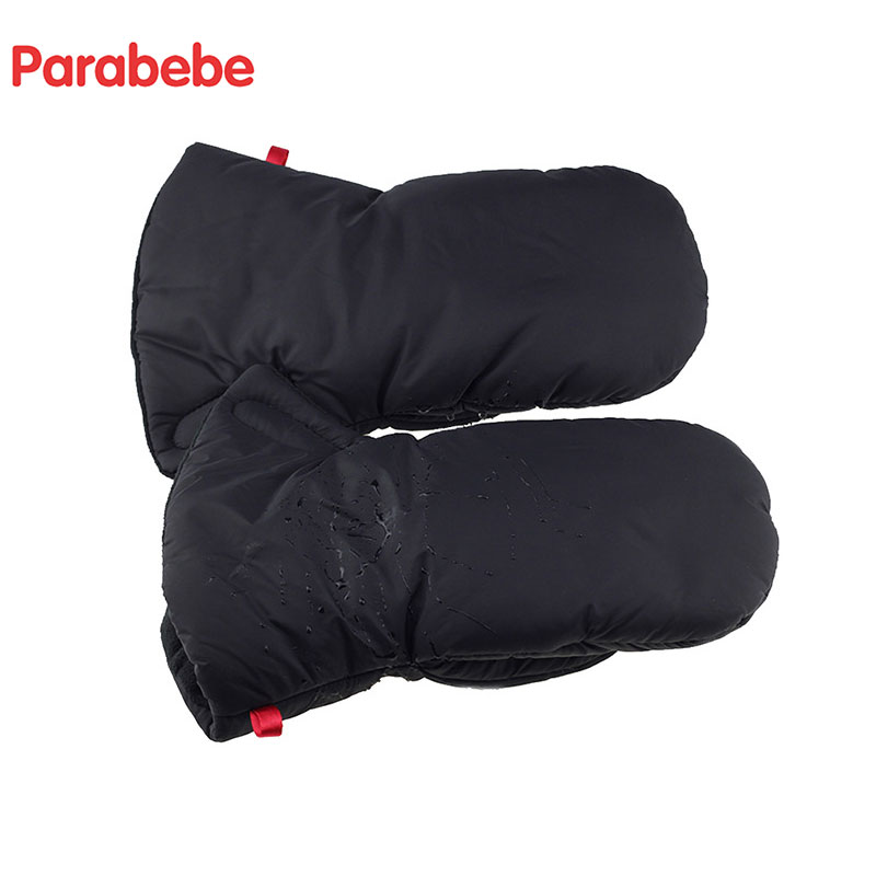 Waterproof Baby Stroller Gloves Winter Big Muff For Children Trolley Hand Muff For Pram Cart Glove