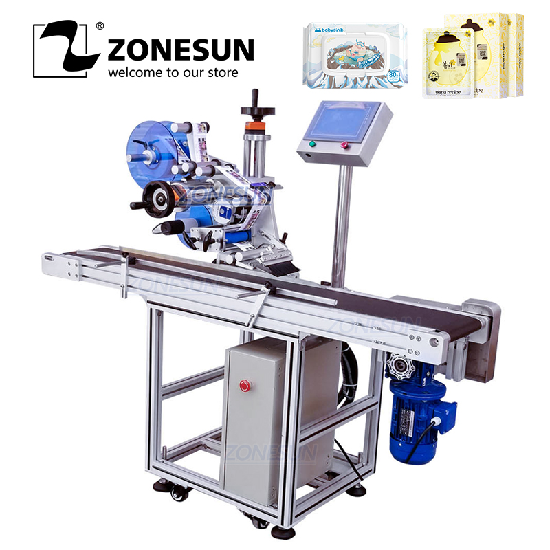 ZONESUN XL T831 Automatic Flat Surface Labeling Machine